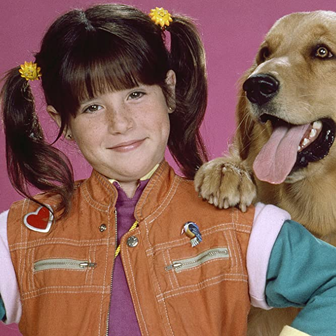 Soleil Moon Frye and Sandy in Punky Brewster (1984)