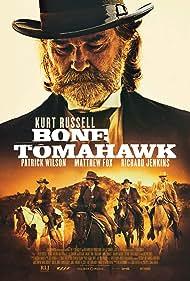 Kurt Russell, Matthew Fox, Richard Jenkins, and Patrick Wilson in Bone Tomahawk (2015)