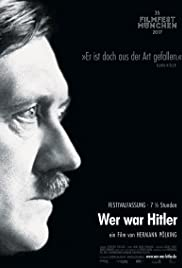 Who Was Hitler Poster