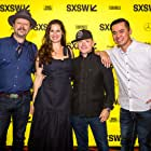 Danny Clinch, T.G. Herrington, Han Soto, and Nicelle Herrington at an event for A Tuba to Cuba (2018)