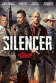 Danny Trejo, Johnny Messner, Tito Ortiz, and Chuck Liddell in Silencer (2018)