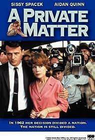 Sissy Spacek and Aidan Quinn in A Private Matter (1992)