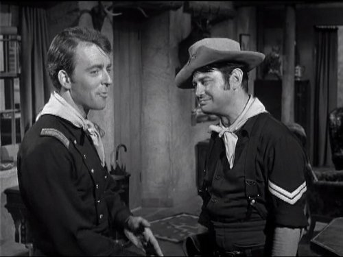 Ken Berry and Larry Storch in F Troop (1965)