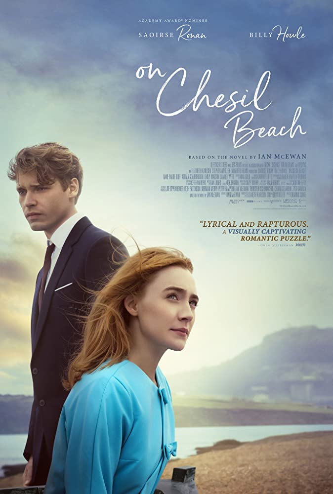 Saoirse Ronan and Billy Howle in On Chesil Beach (2017)