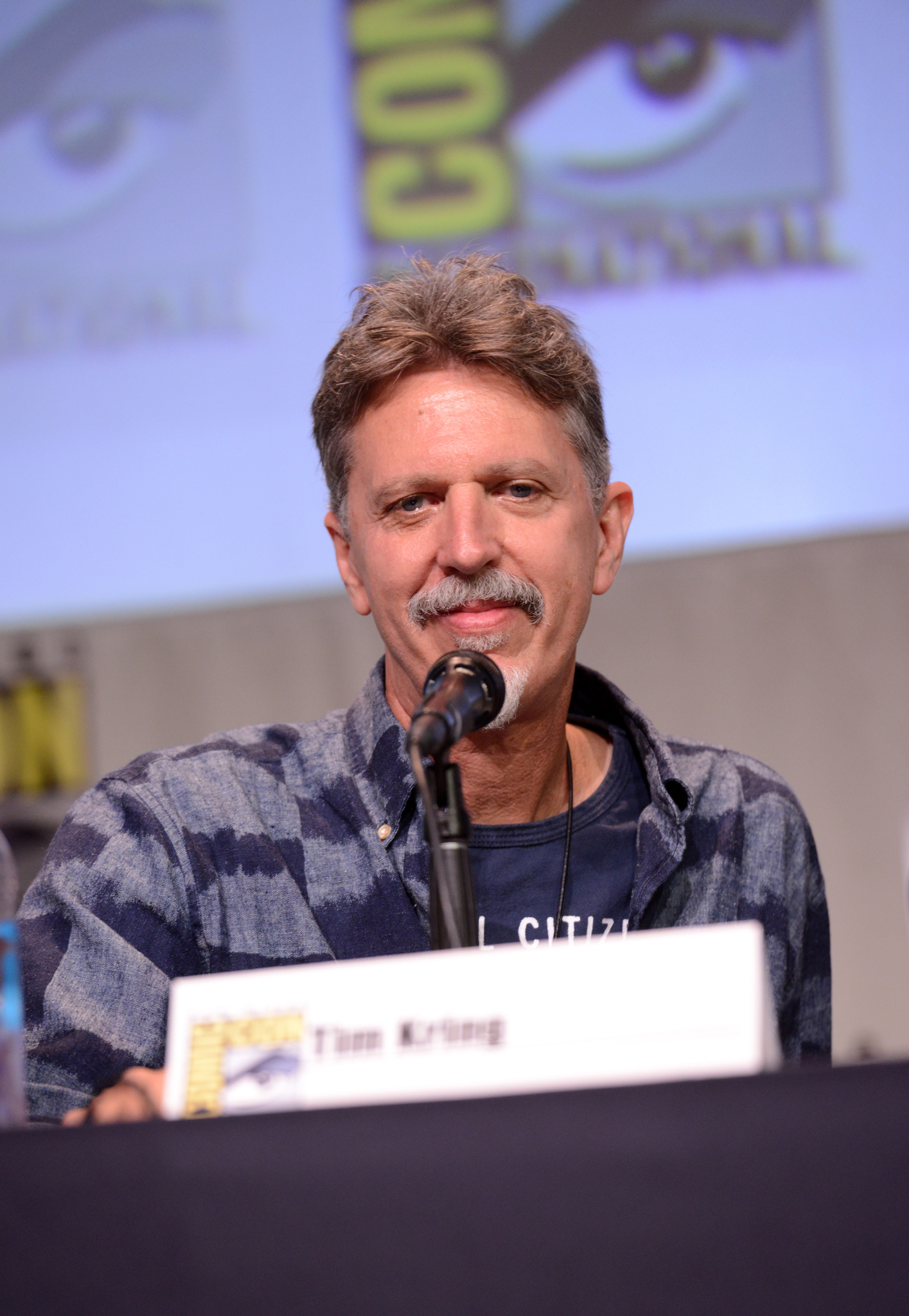 Tim Kring at an event for Heroes Reborn (2015)