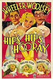 Hips, Hips, Hooray! (1934) Poster - Movie Forum, Cast, Reviews