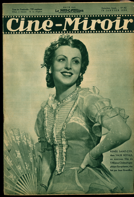 Renée Saint-Cyr in Valse royale (1936)