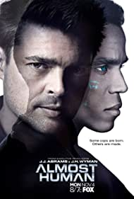 Karl Urban and Michael Ealy in Almost Human (2013)