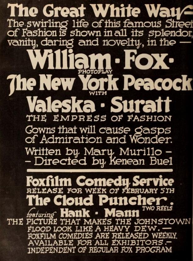 The New York Peacock (1917) - IMDb