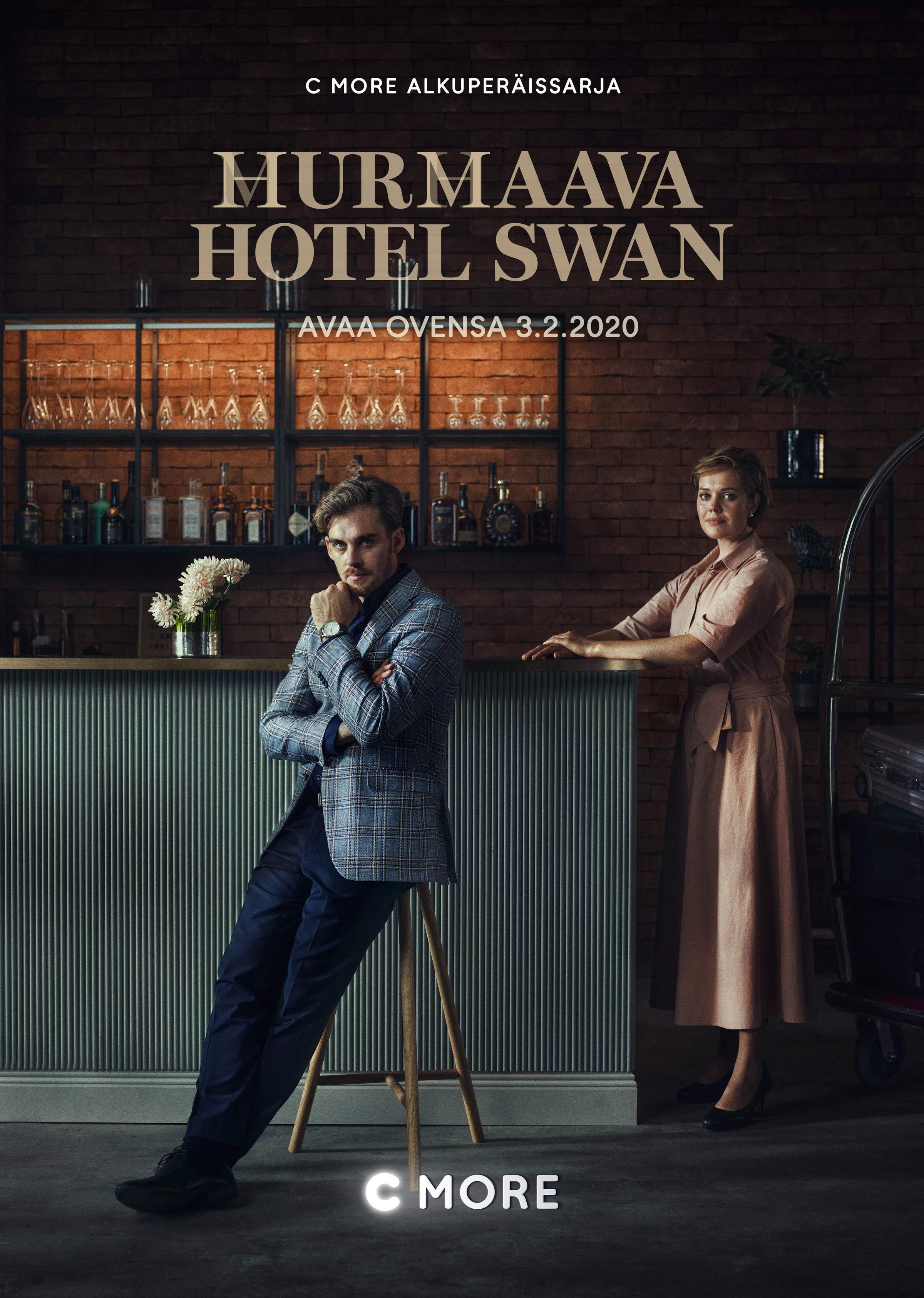 Lauri Tilkanen and Oona Airola in Hotel Swan Helsinki (2020)