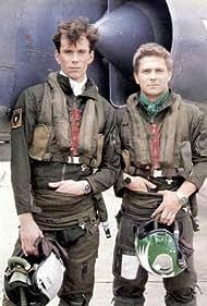 Thierry Redler and Christian Vadim in Les nouveaux chevaliers du ciel (1988)