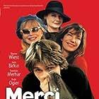 Jane Birkin, Dianne Wiest, Stanislas Merhar, and Bulle Ogier in Merci Docteur Rey (2002)