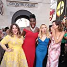 Leslie Jones, Melissa McCarthy, Kate McKinnon, and Kristen Wiig at an event for Ghostbusters (2016)