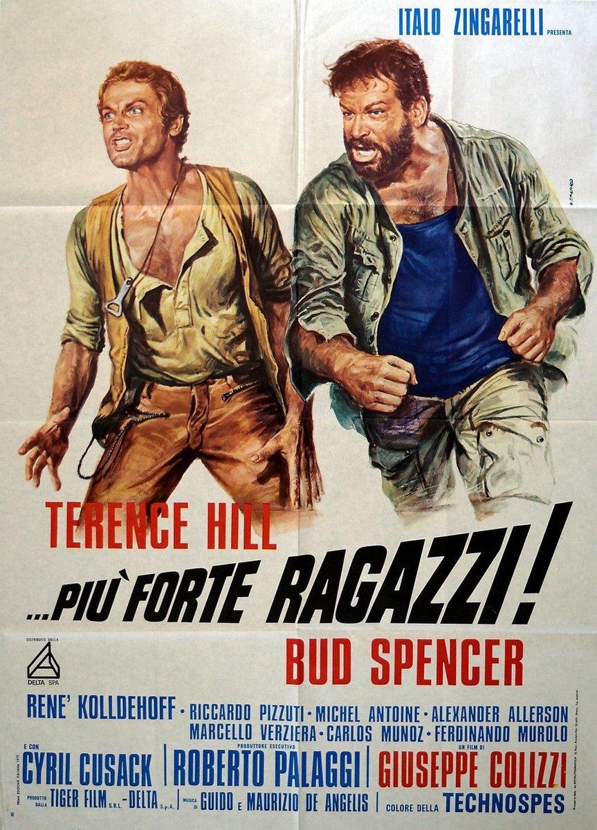 T-Shirt Banana Joe Bud Spencer Terence Hill Vintage Film TV attori Bulldozer Western Bimbo