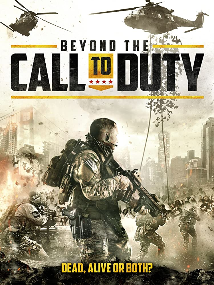 Beyond The Call To Duty 2016 Hindi ORG Dual Audio 450MB BluRay ESub Download