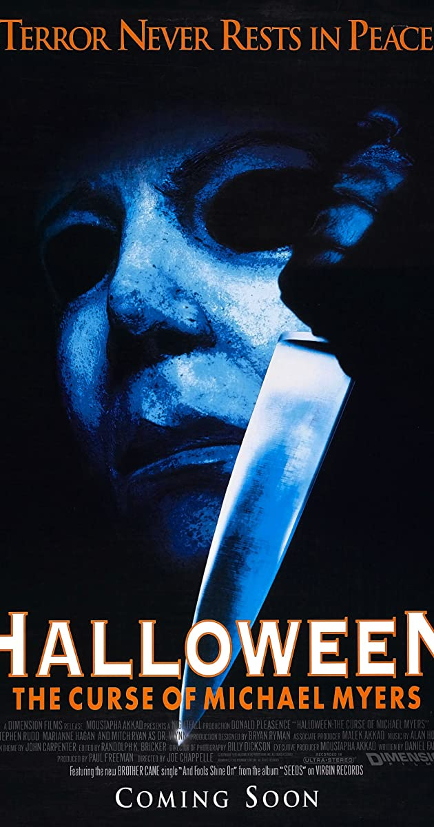 Subtitle of Halloween: The Curse of Michael Myers