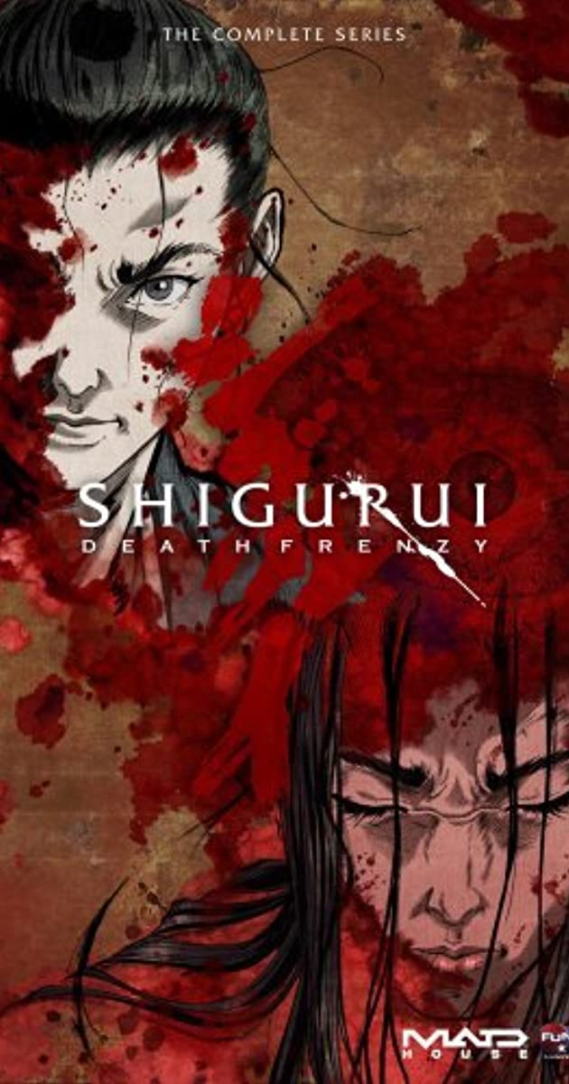 Shigurui Death Frenzy TV Series 2007