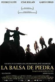 Icíar Bollaín, Gabino Diego, Diogo Infante, Federico Luppi, and Ana Padrão in La balsa de piedra (2002)