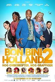 Liliana de Vries, Jandino Asporaat, and Steef de Bot in Bon Bini Holland 2 (2018)