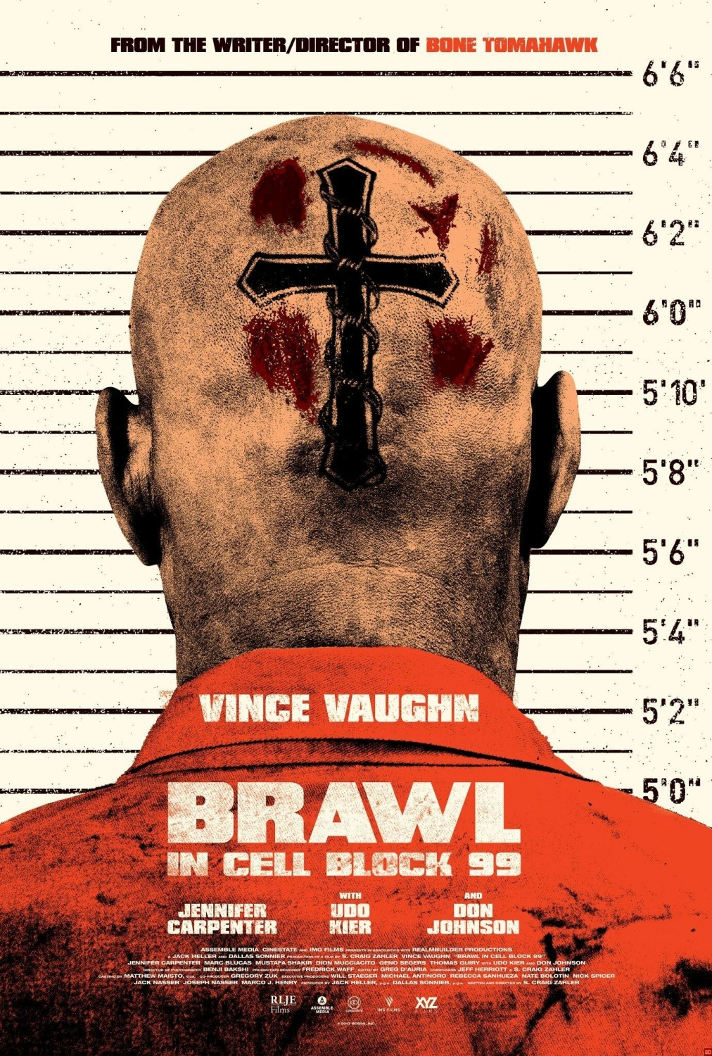 Brawl In Cell Block 99 2017 Imdb People Blocks 31 Piece Set Classic Colors