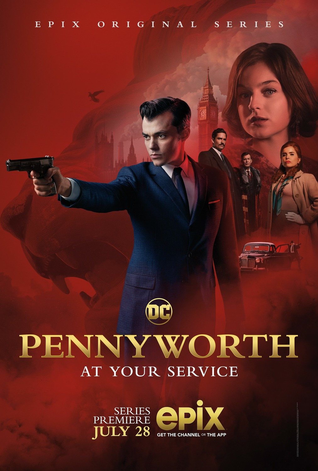 Alfredas Pennyworth'as (1 Sezonas) / Pennyworth Season 1