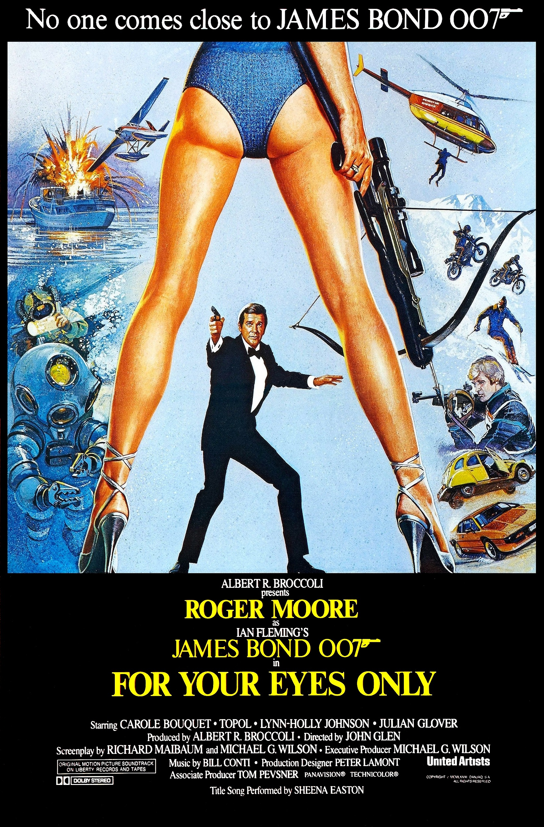 James Bond  Lois Maxwell Miss Moneypenny NEW Poster