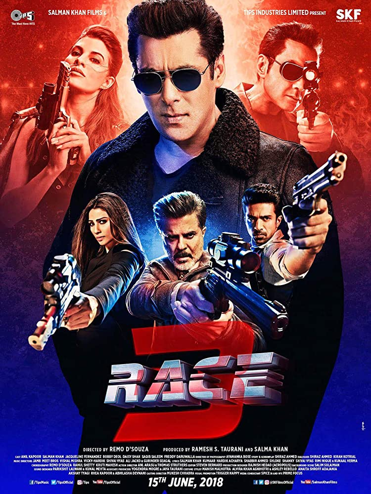 Race 3 (2018) Hindi 720p v2 PreDvDRip x264 AAC