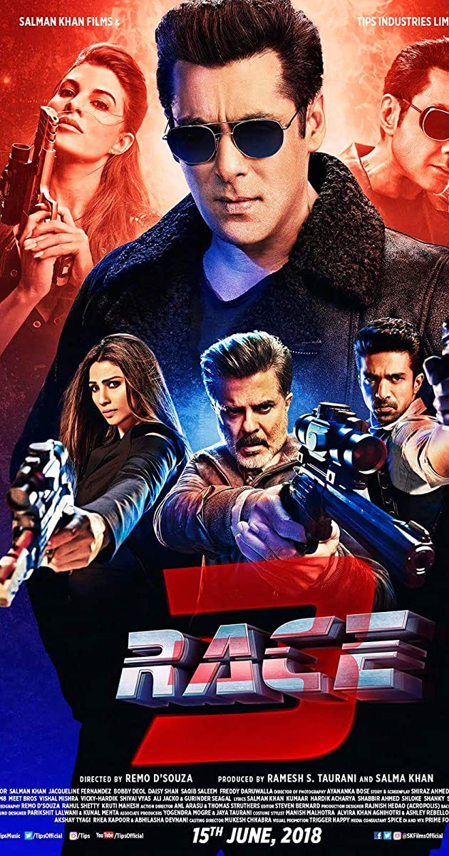 Free Download Race 3 Full Movie