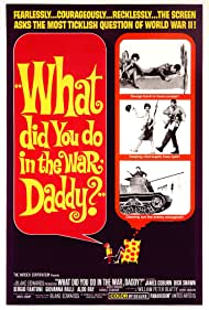 James Coburn, Giovanna Ralli, and Dick Shawn in What Did You Do in the War, Daddy? (1966)