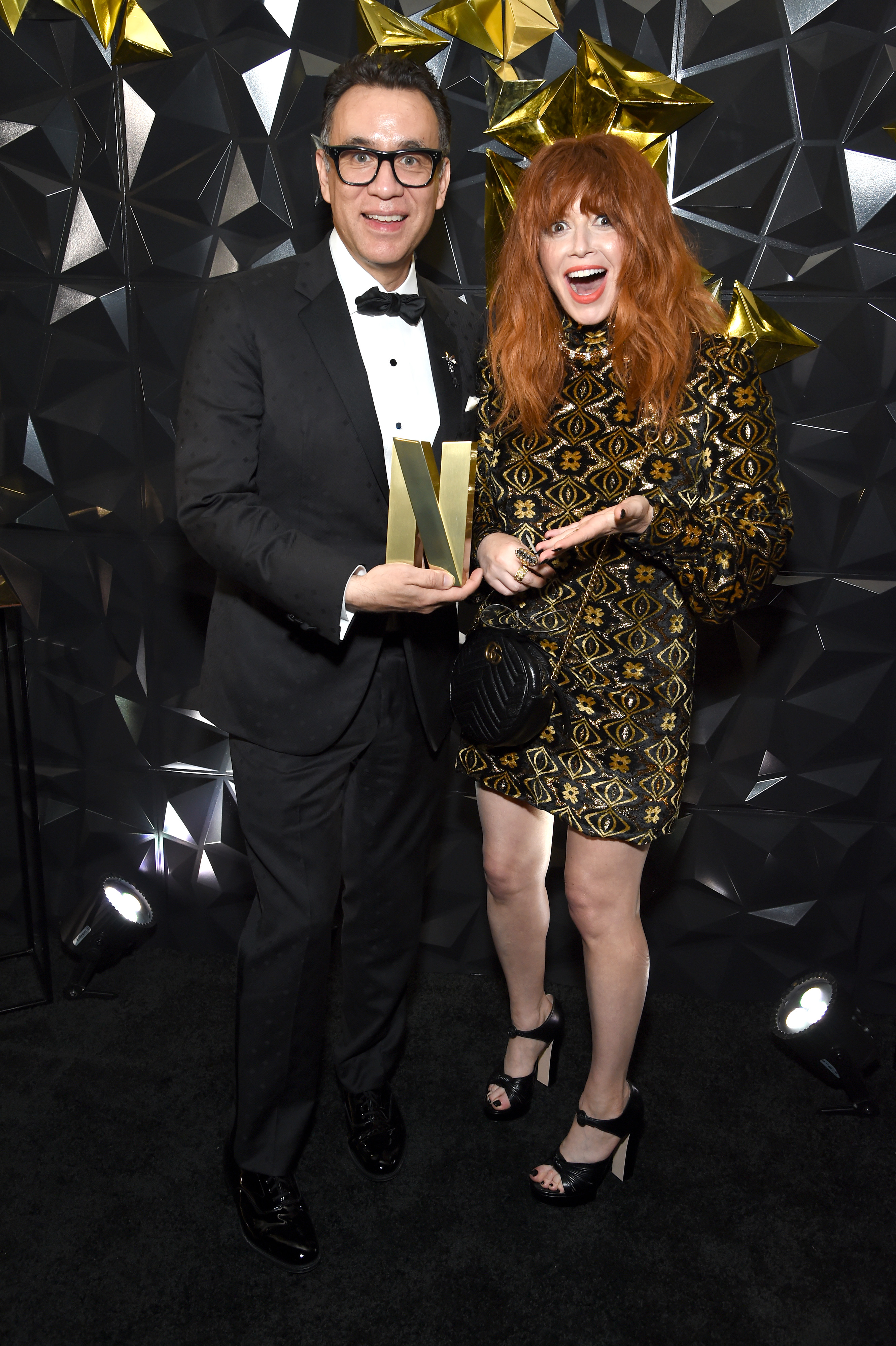 Natasha Lyonne and Fred Armisen at an event for The 71st Primetime Emmy Awards (2019)