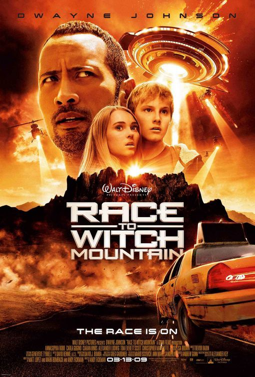Race To Witch Mountain (2009) Dual Audio Hindi 300MB BluRay 480p x264 ESubs