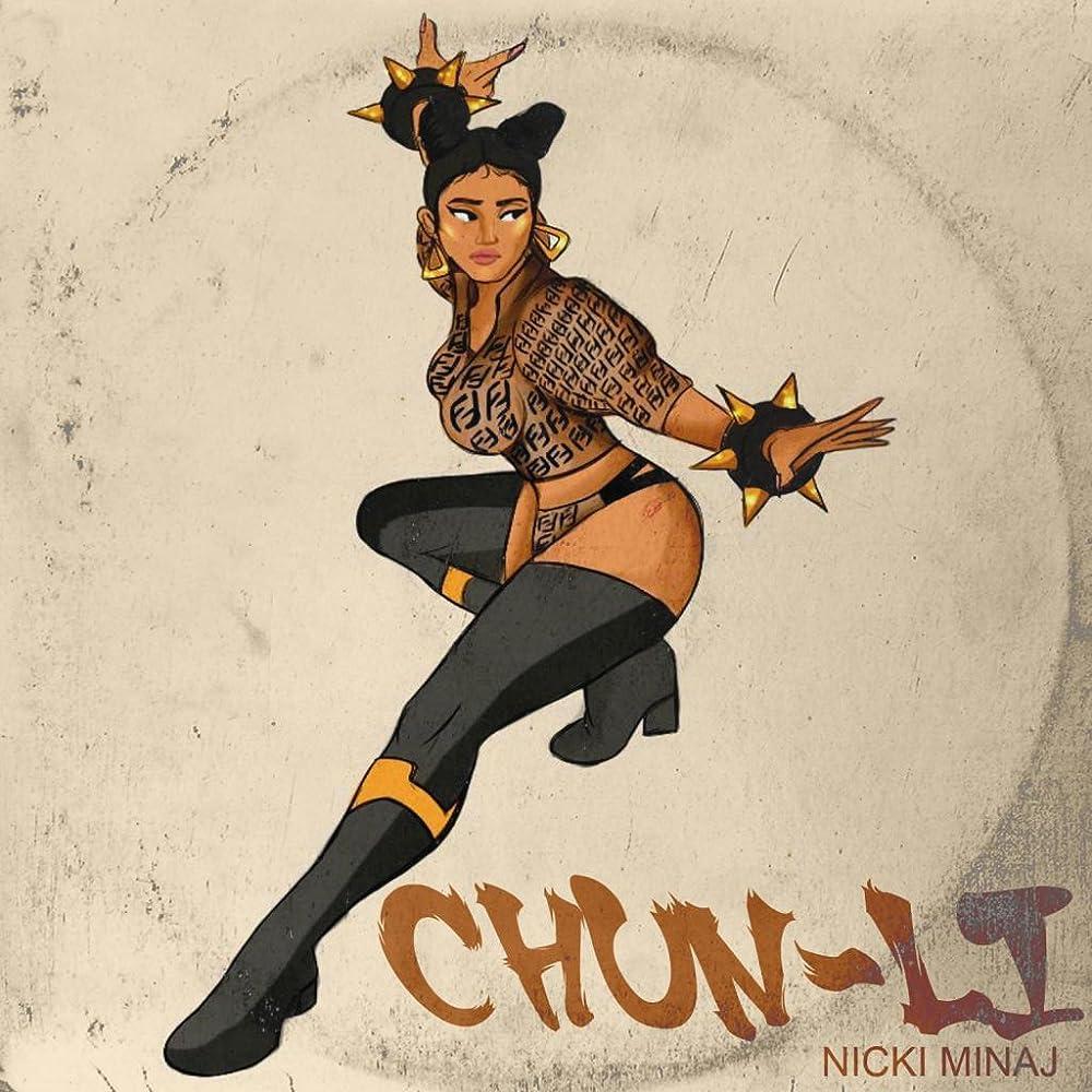 Nicki Minaj Chun Li 2018