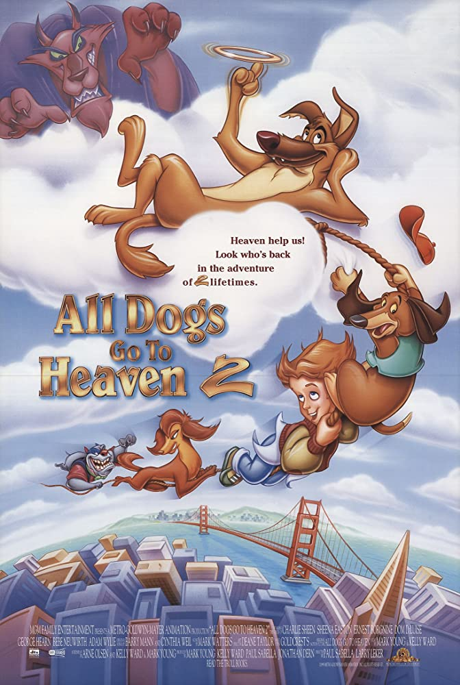 all dogs go to heaven ii 1996