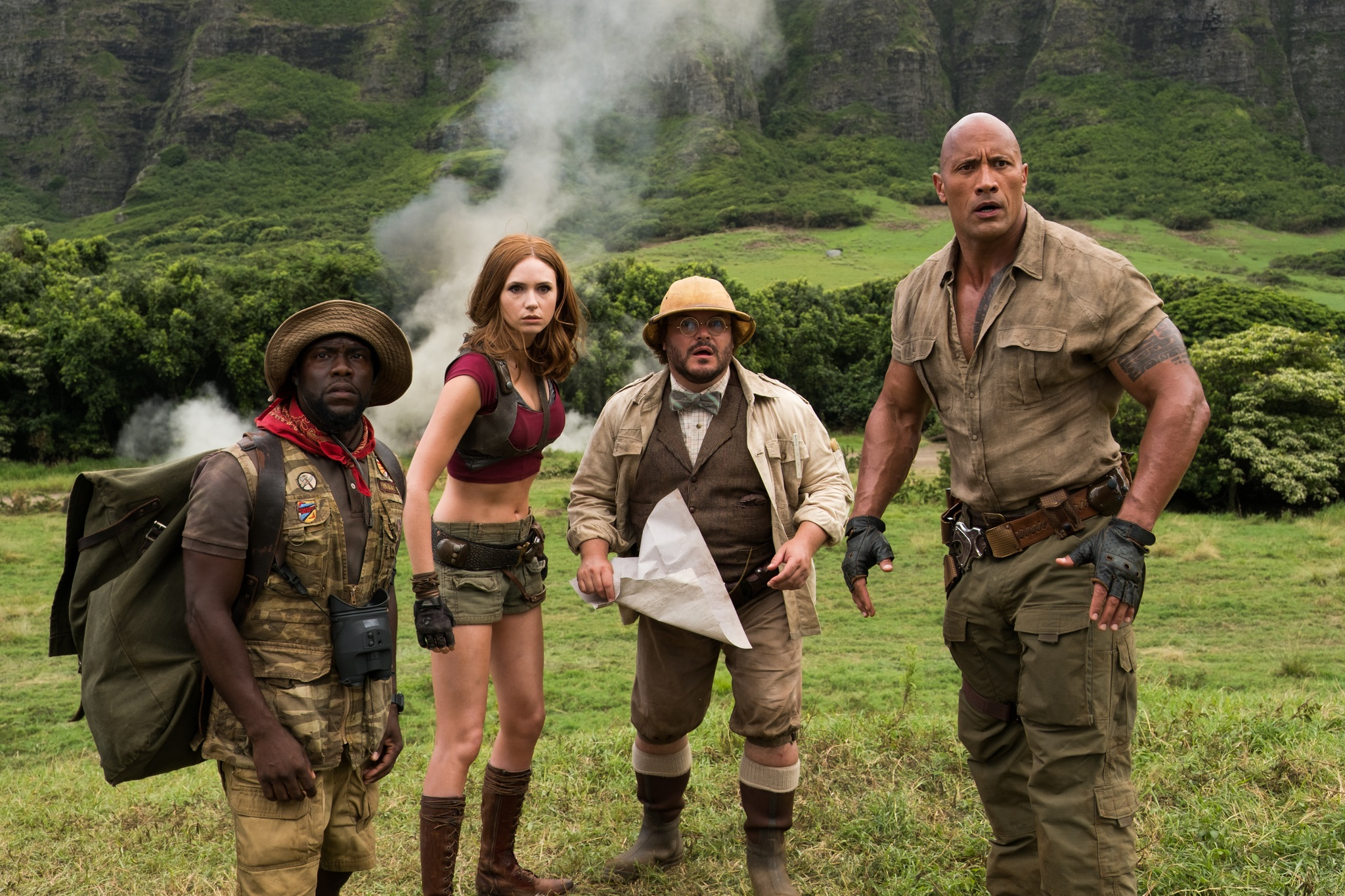 Image result for jumanji welcome to the jungle stills