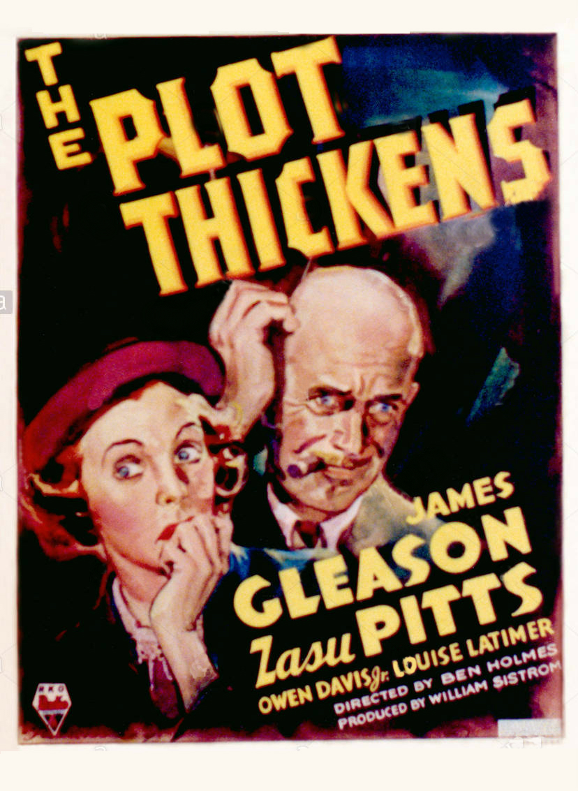 James Gleason and Zasu Pitts in The Plot Thickens (1936)