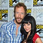 Kris Holden-Ried and Ksenia Solo at an event for Lost Girl (2010)