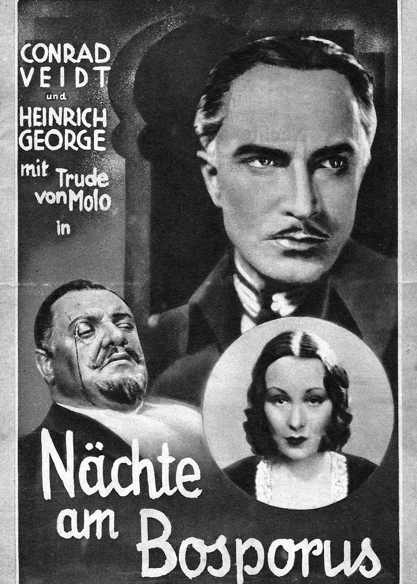 Heinrich George, Conrad Veidt, and Trude von Molo in Der Mann, der den Mord beging (1931)