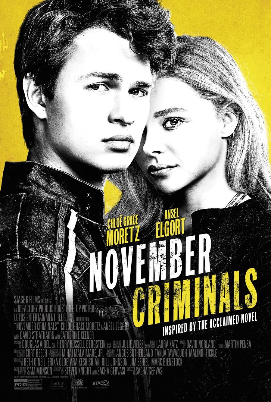 November Criminals (2017) BluRay 480p, 720p & 1080p
