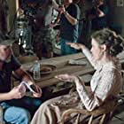 """With director Clayton Miller on the set of """"The Redemption of Henry Myers"""""""