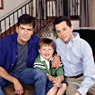Charlie Sheen, Jon Cryer, and Angus T. Jones in Two and a Half Men (2003)