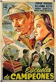 Escuela de campeones Poster