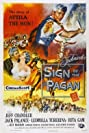Sign of the Pagan (1954) Poster