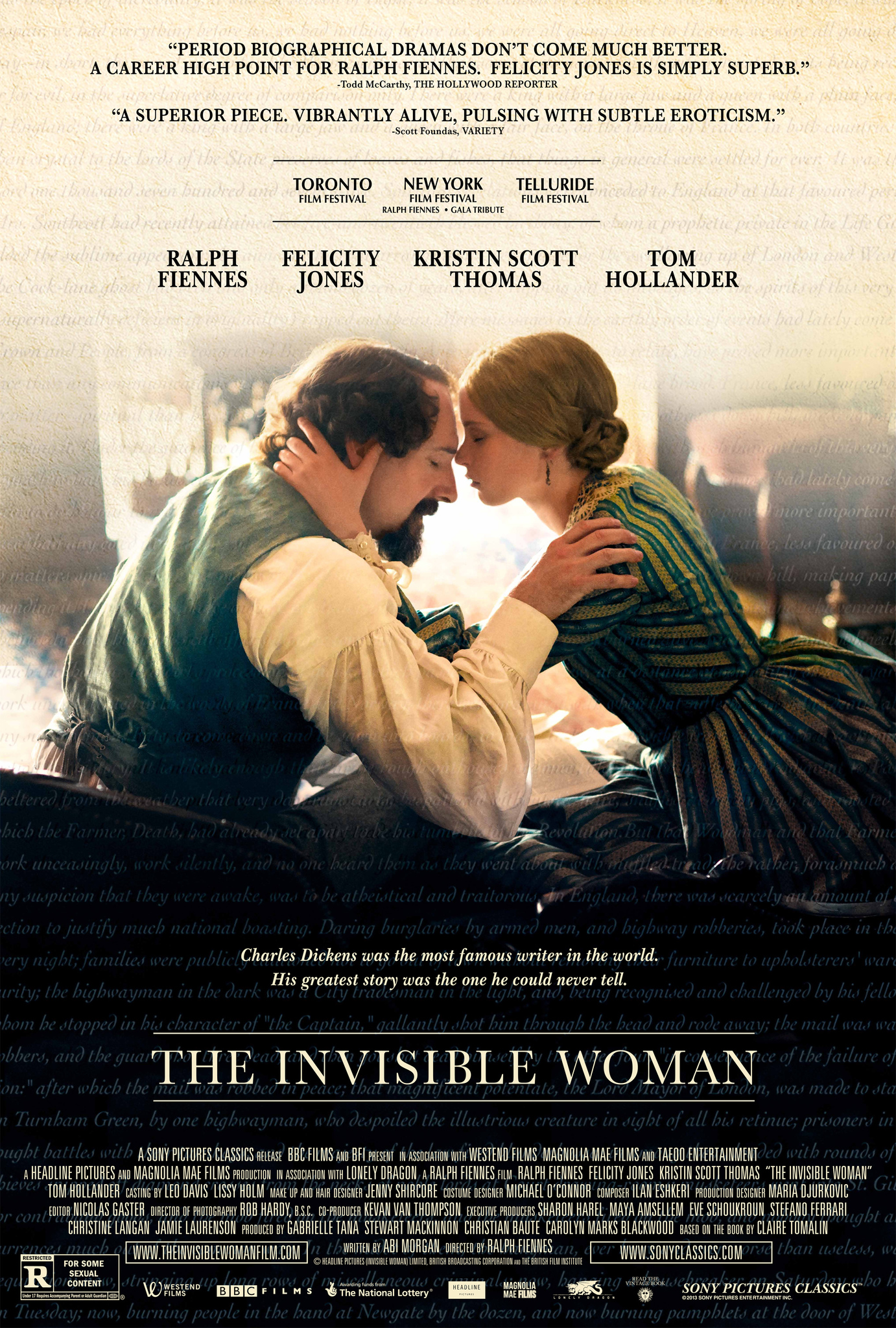 The Invisible Woman (2013) BluRay 720p & 1080p