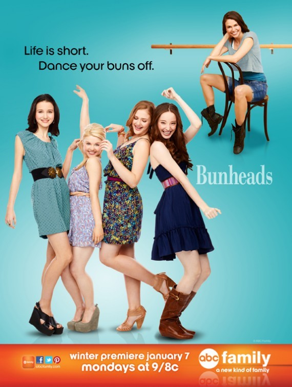Sutton Foster, Emma Dumont, Kaitlyn Jenkins, Bailey De Young, and Julia Goldani Telles in Bunheads (2012)