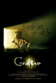 Keith David and Dakota Fanning in Coraline (2009)