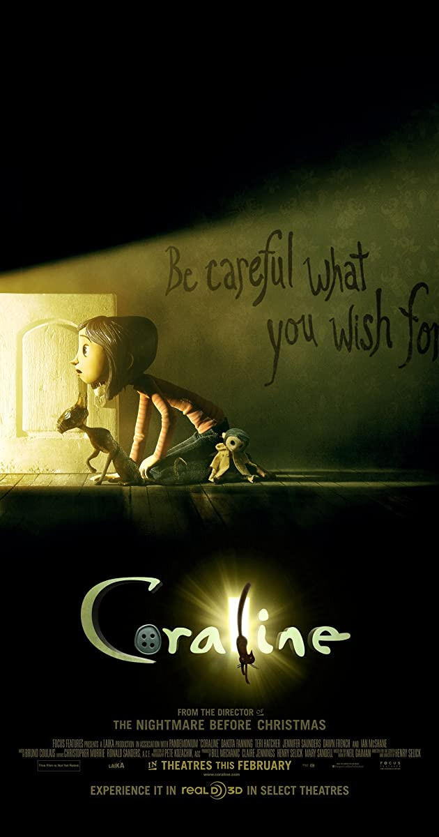 Coraline 2009 Plot Summary Imdb
