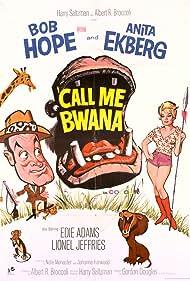 Anita Ekberg and Bob Hope in Call Me Bwana (1963)