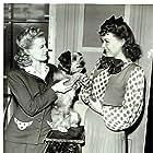 Kay Harris and Penny Singleton in Tillie the Toiler (1941)