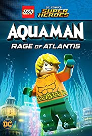 LEGO DC Comics Super Heroes: Aquaman - Rage of Atlantis Poster