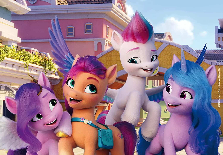 Vanessa Hudgens, Kimiko Glenn, Sofia Carson, and Liza Koshy in My Little Pony: A New Generation (2021)